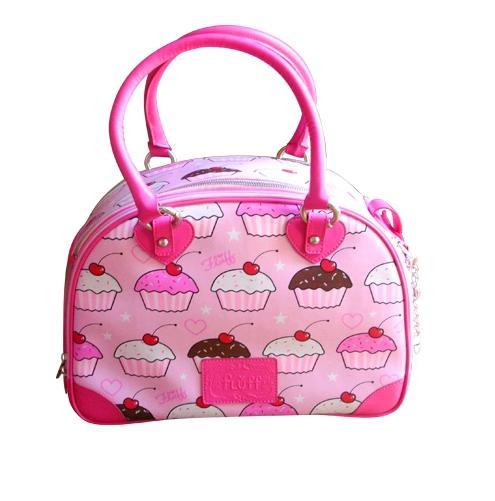 Fluff cupcake carrier pink